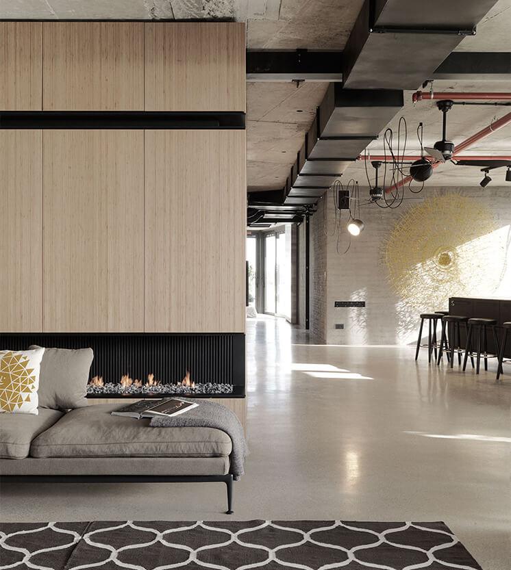 Est Magazine TelAviv Livingroom
