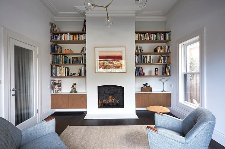 Est Living Taylor Knights St Kilda House Second Living Room