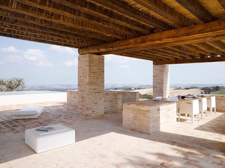Est Living Villa Olivi Italy OutdoorPool