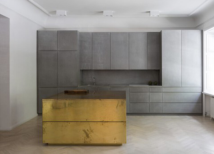 Gold & Grey Apartment