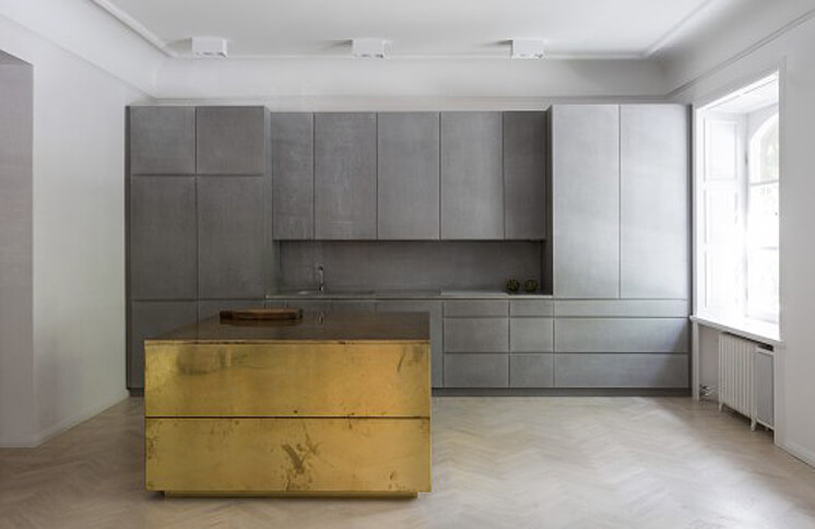 Richard Lindvall Gold Grey Apartment est living02