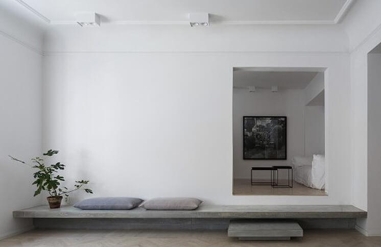 Richard Lindvall Gold Grey Apartment est living03