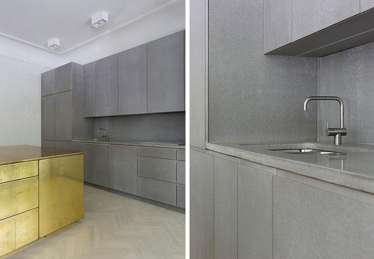 Richard Lindvall Gold Grey Apartment est living08