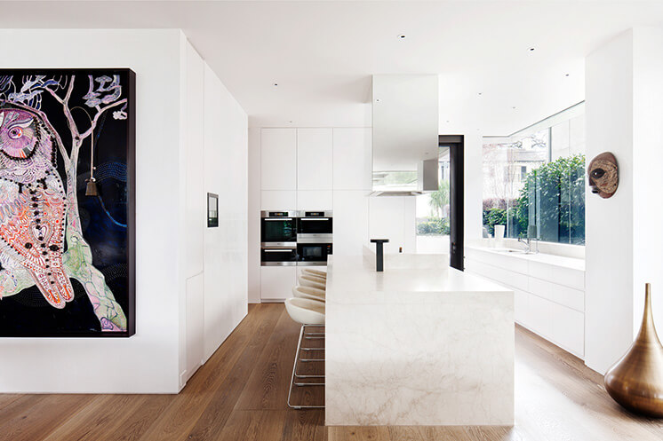 South Yarra Rob Mills Est Living Kitchen