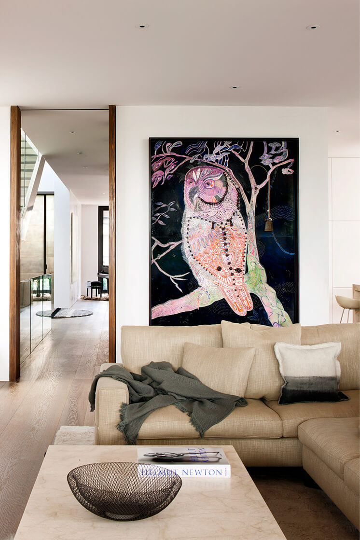 South Yarra Rob Mills Est Living Lounge