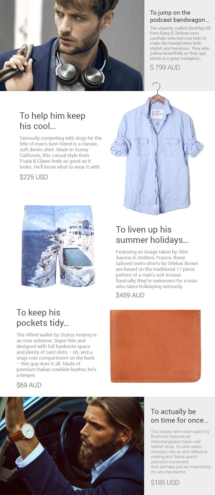 est living gift guide stylish uncle