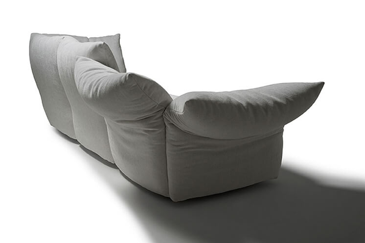 Edra Standard Sofa Est Living White