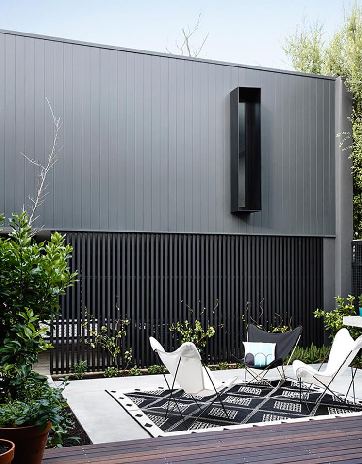 Elwood House Inform Design Est Living Backyard 1
