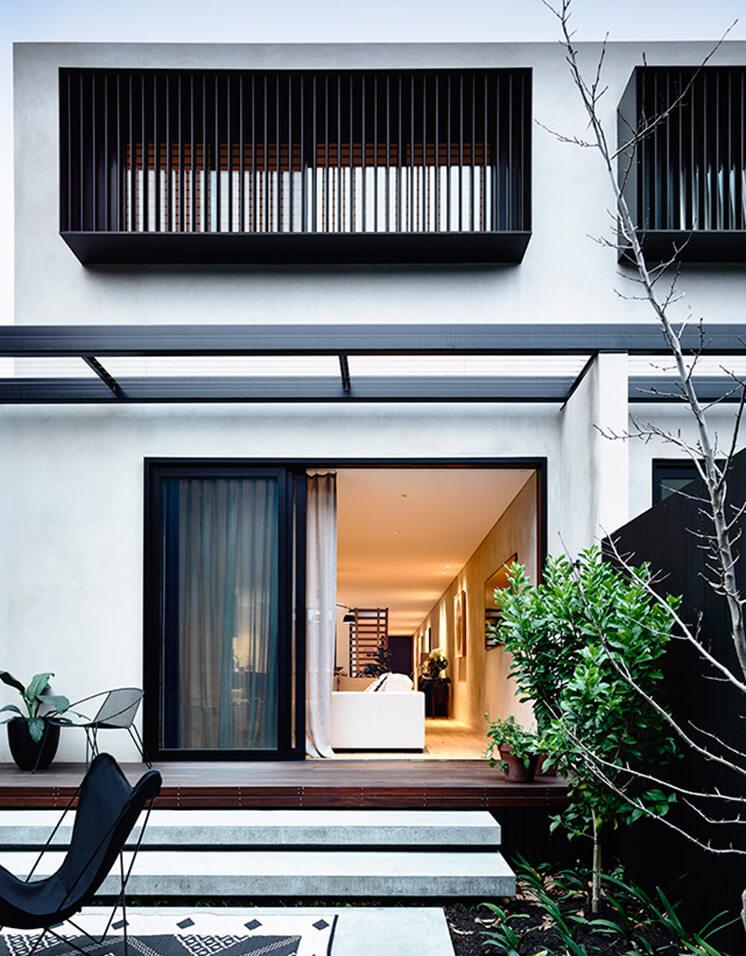 Elwood House Inform Design Est Living Exterior Back