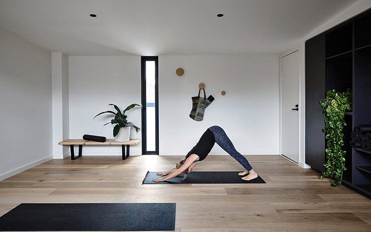 Elwood House Inform Design Est Living Yoga Lane