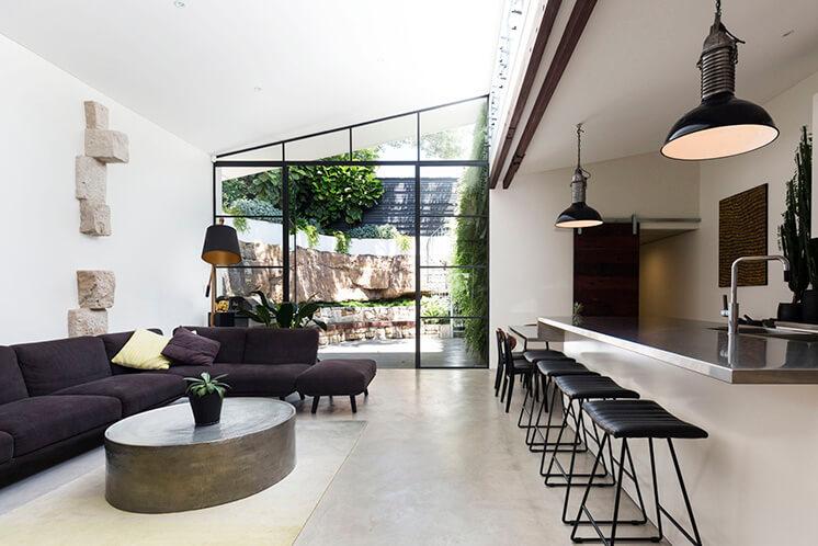 Est Living Open House Rozelle.Kitchen