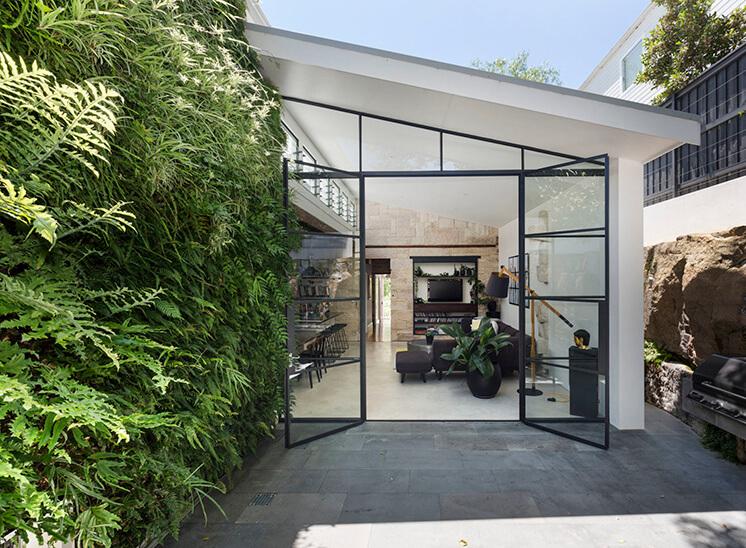 Est Living Open House Rozelle.Outside