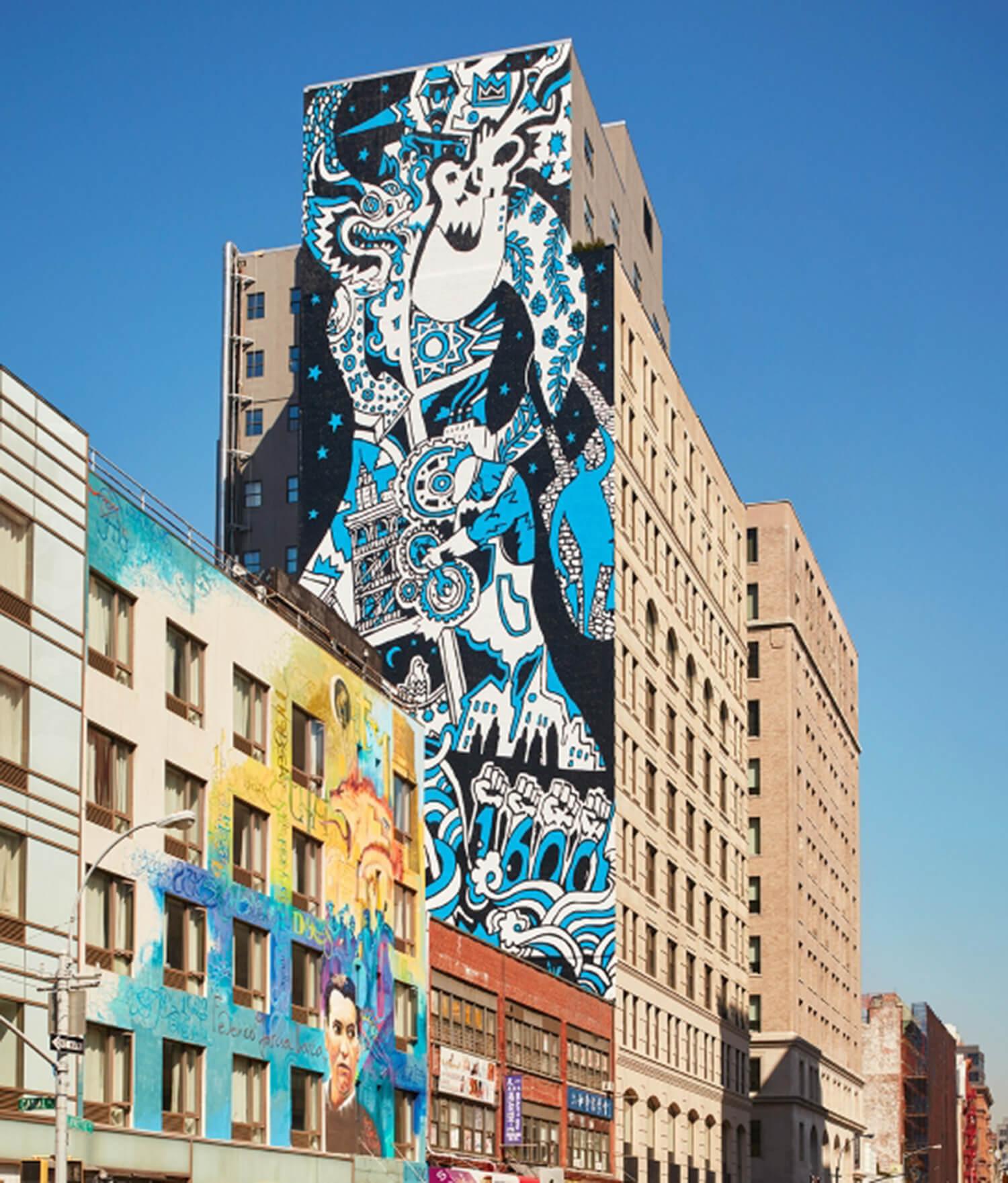 Est Living 11 The Howard Soho NYC Ext Wall