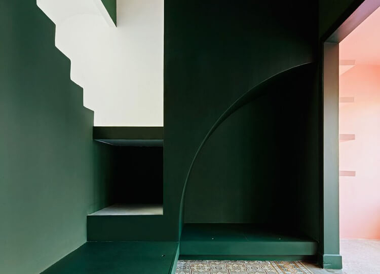 Colour Blocking: Casa Horta