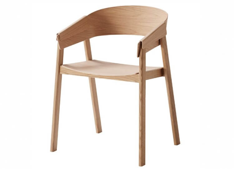 Cover Chair in Wood Muuto