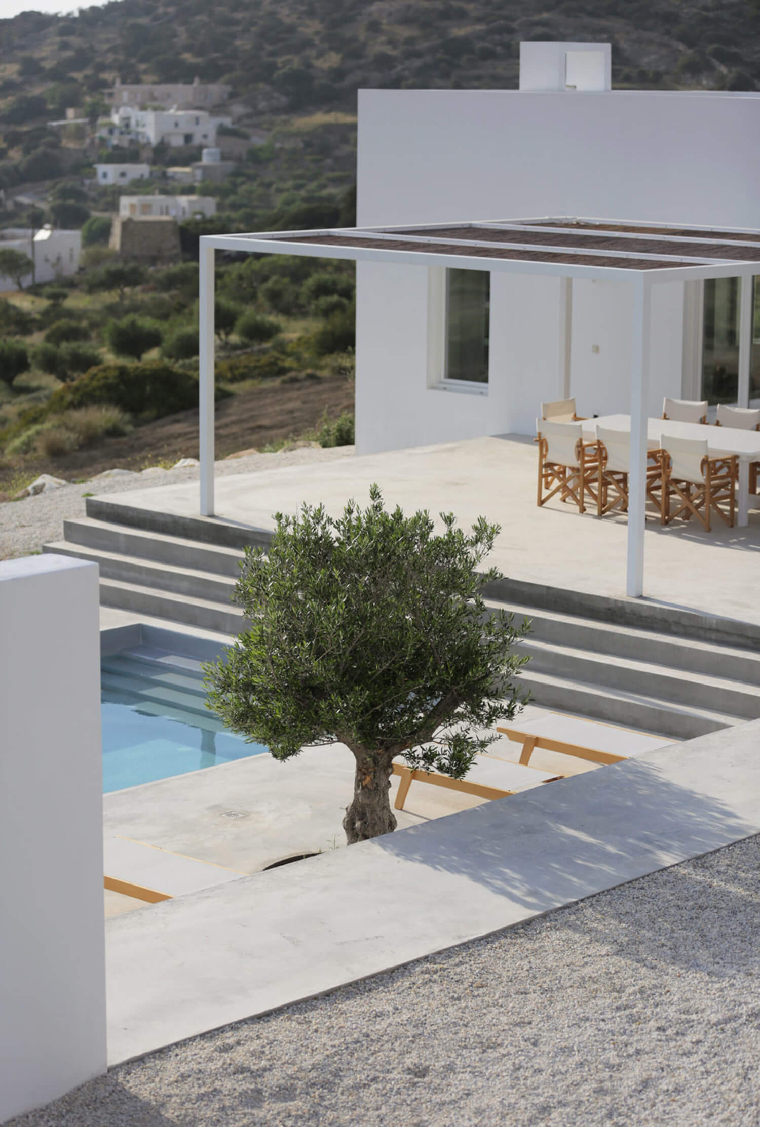 Est Living Maison Kamari Paros Greece Ext