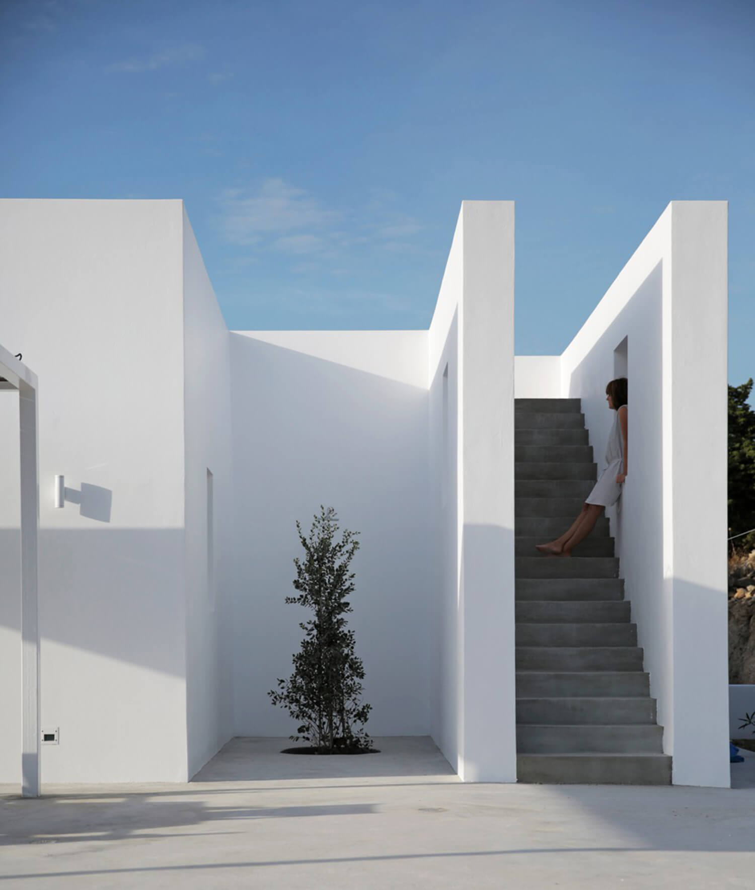Est Living Maison Kamari Paros Greece Stairs