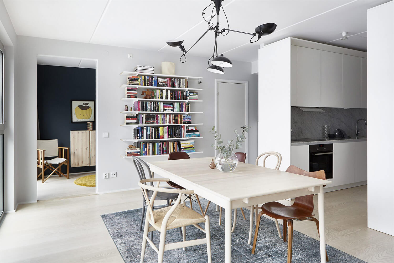 Est Living Open House SJÖSTAD Apartment Dining
