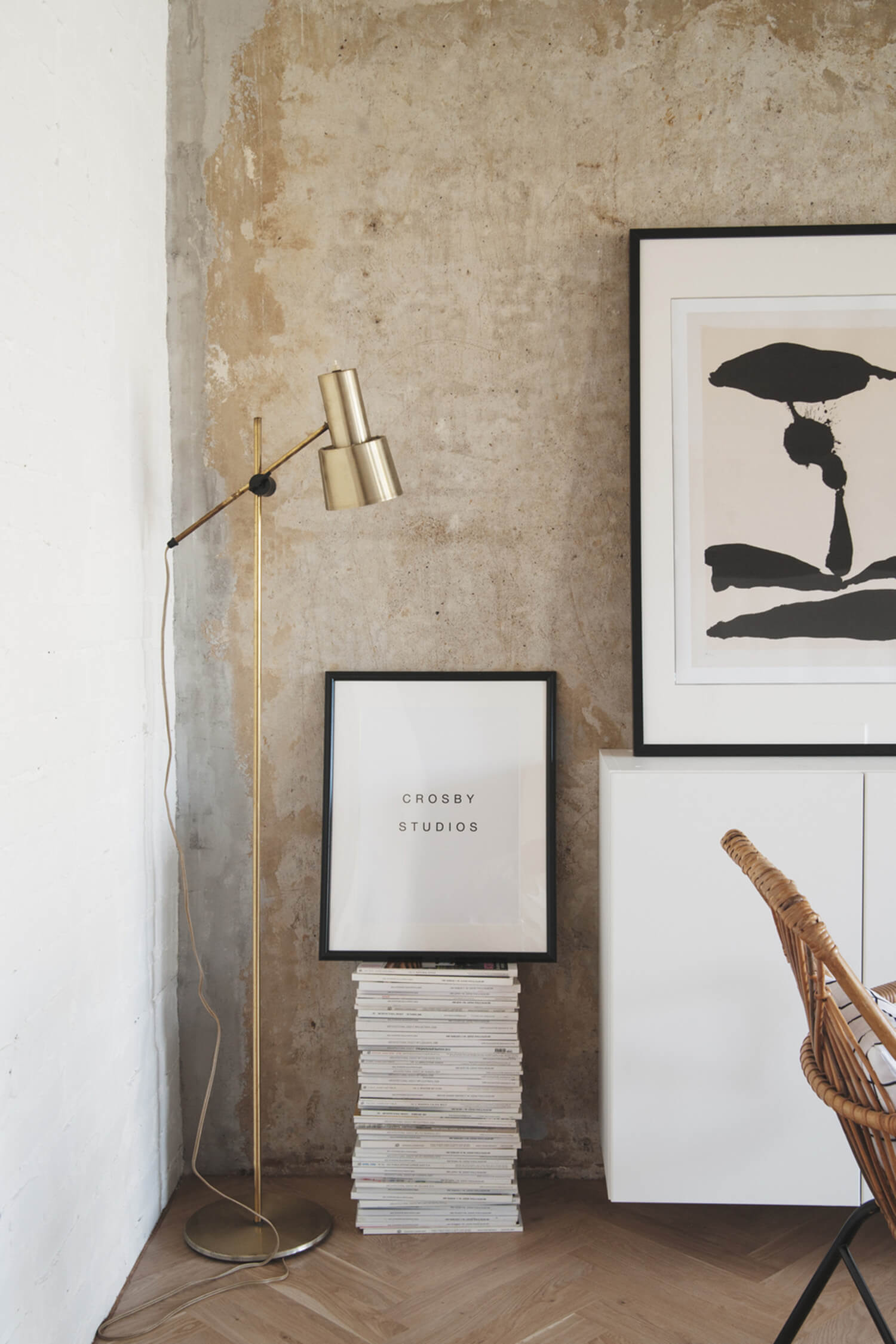 est living concrete ceiling apartment crosby studios