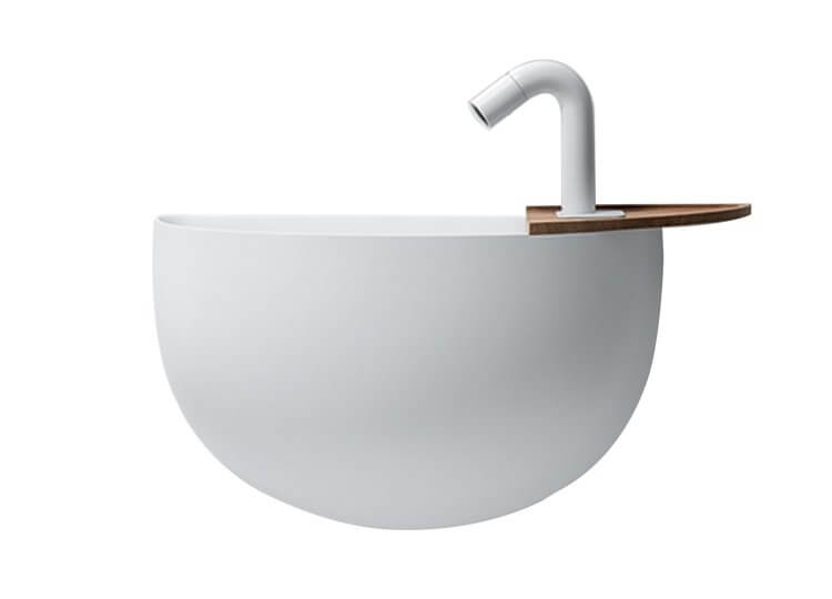 Lavamani Wall Hung Basin Falper Rogerseller
