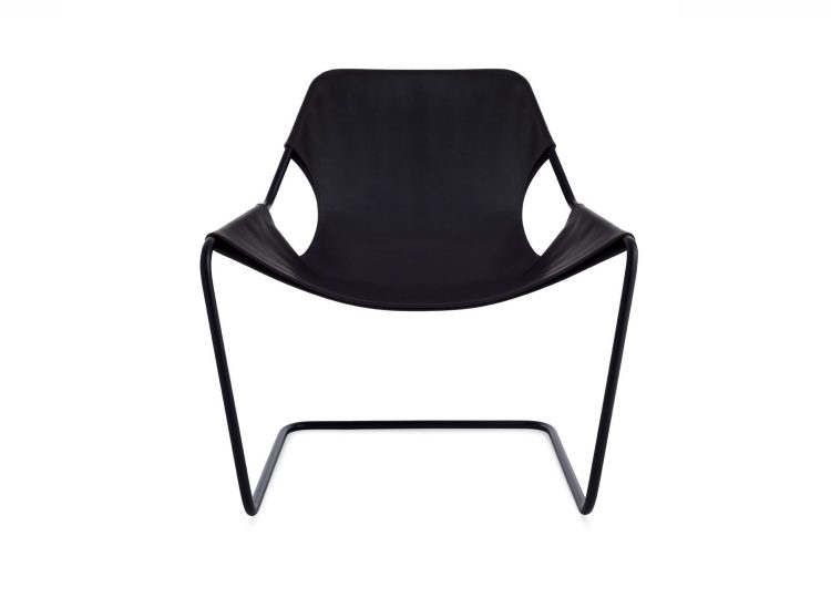 est living objekto paulistano armchair black frame black leather 02 750x540