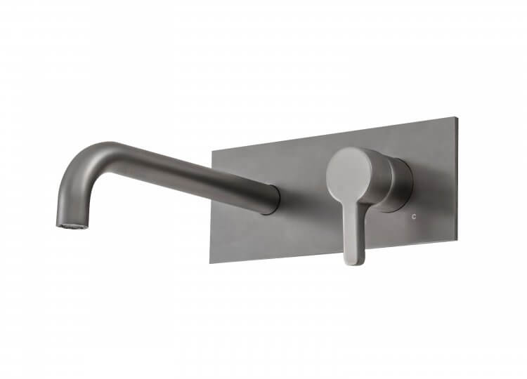 Arq Wall Mixer in Graphite Rogerseller