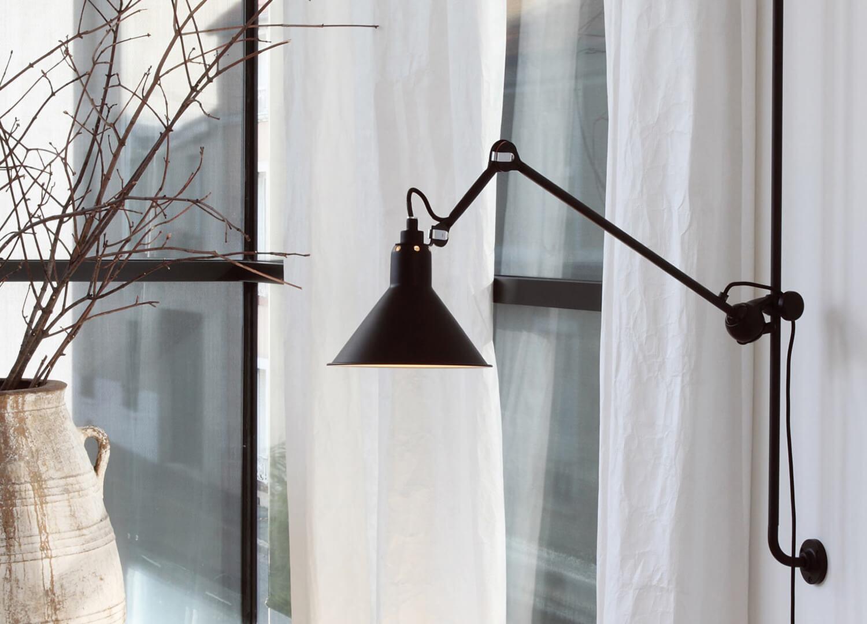 est living no214 dcw lamp gras