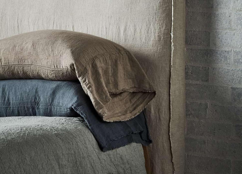 Est Living Design Directory Hale Mercantile Co Linen Bedhead 1