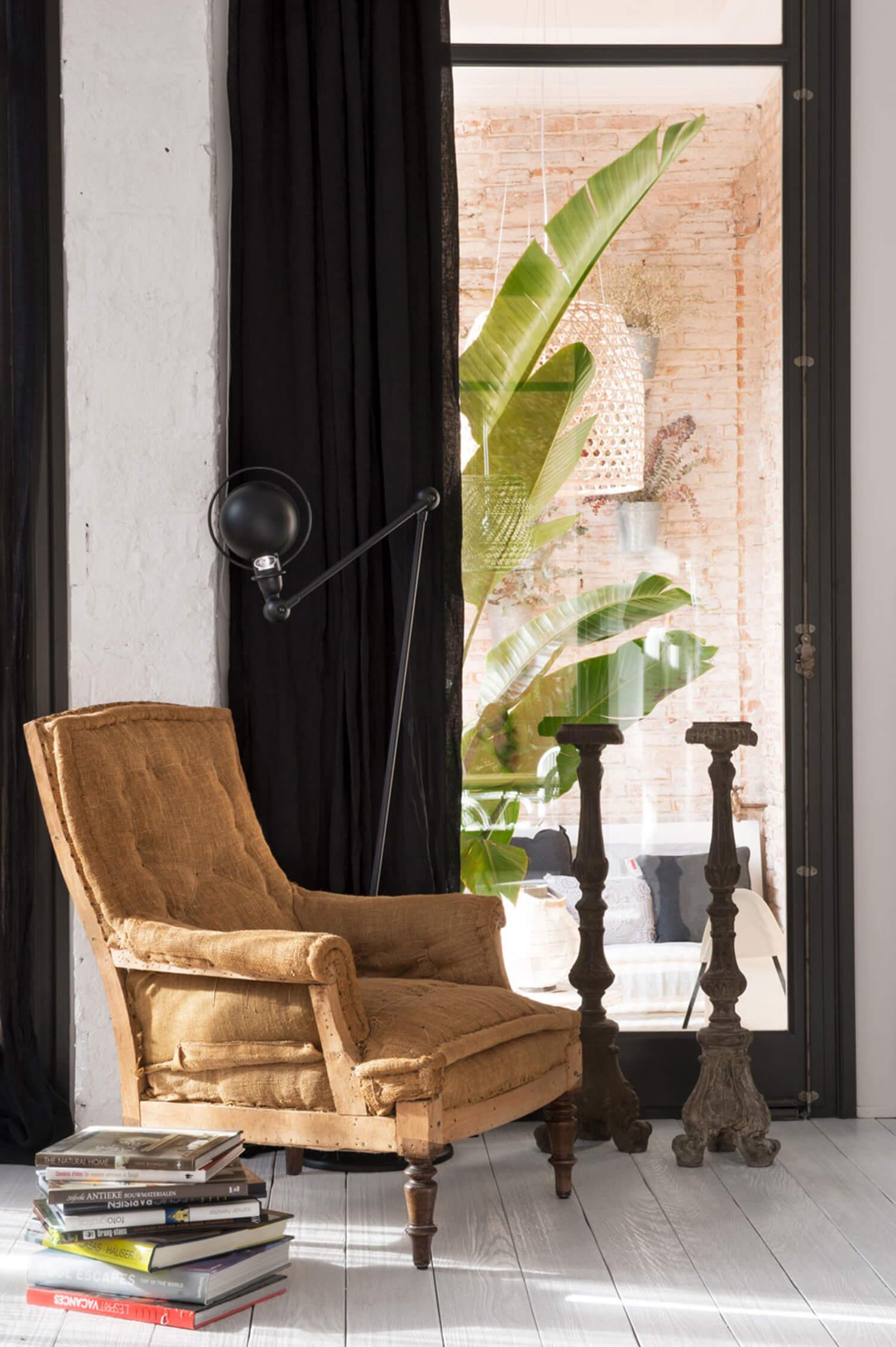 est living barcelona loft serrat tort architects armchair