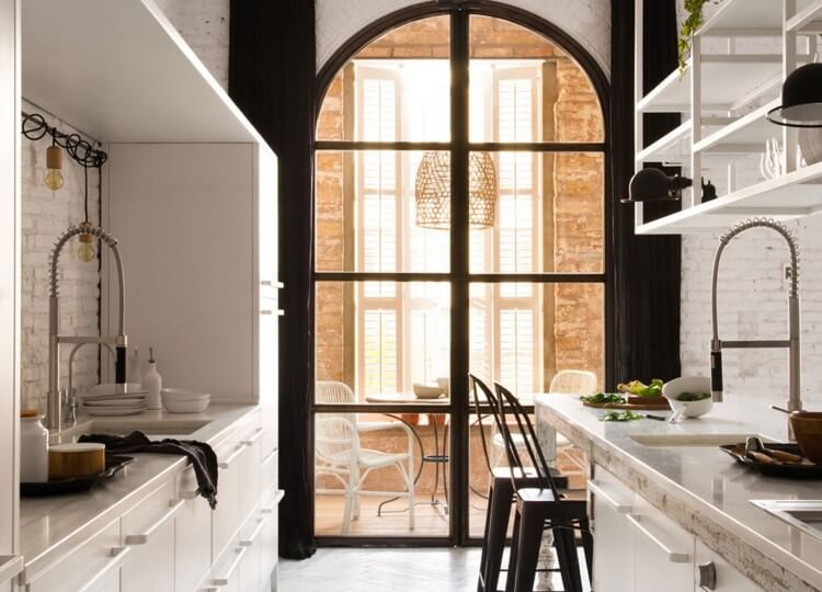 Kitchen | Barcelona Loft