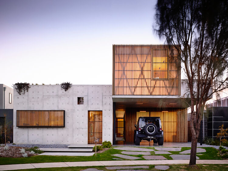 est living concrete house auhaus architects