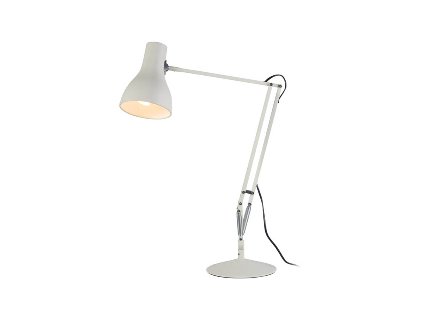est living design directory anglepoise type 75 desk light cult white