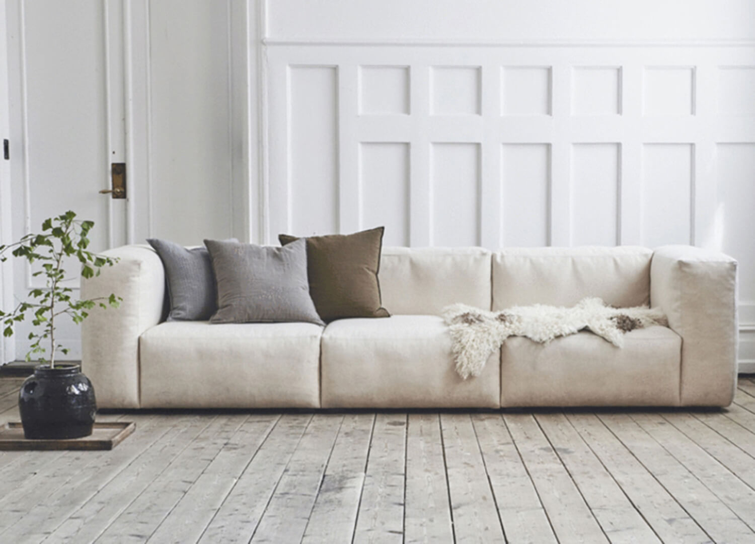 est living design directory mags sofa cult white