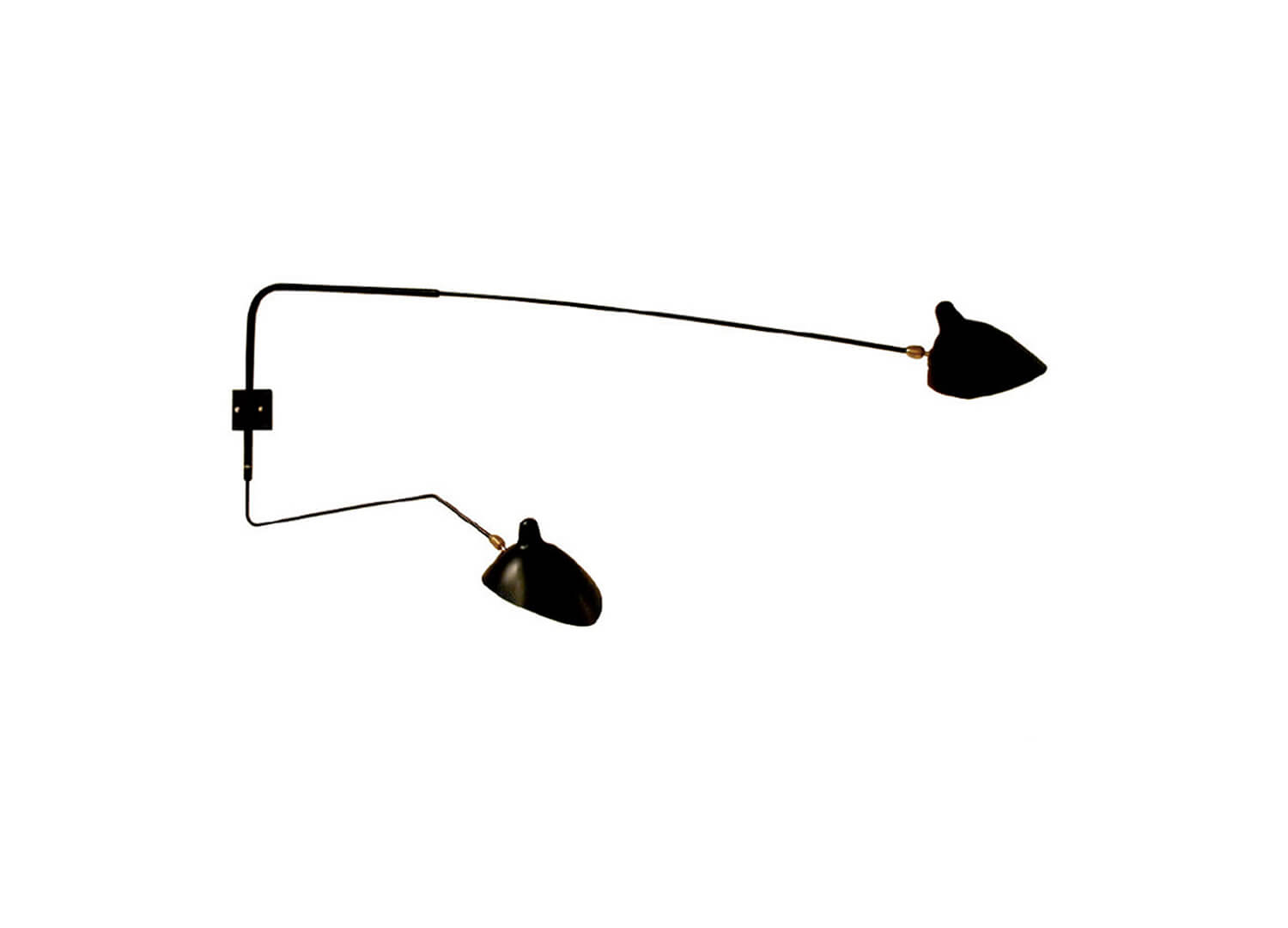 est living design driectory serge mouille applique 2 bras piv 1 wall lamp cult