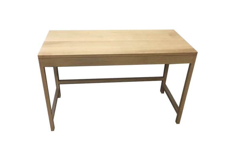 Rectangular Oak Desk