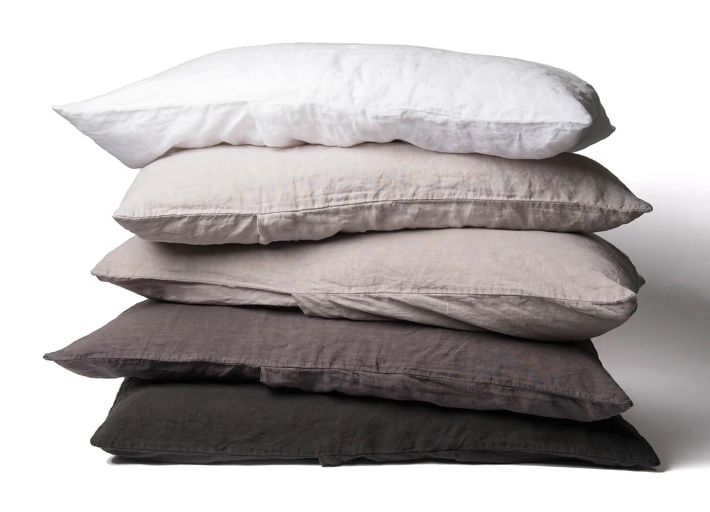 est essentials collection linen pillowcases design directory