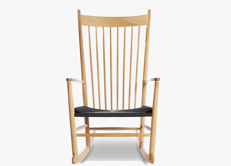 est living design directory j16 rocking chair great dane natural black cord