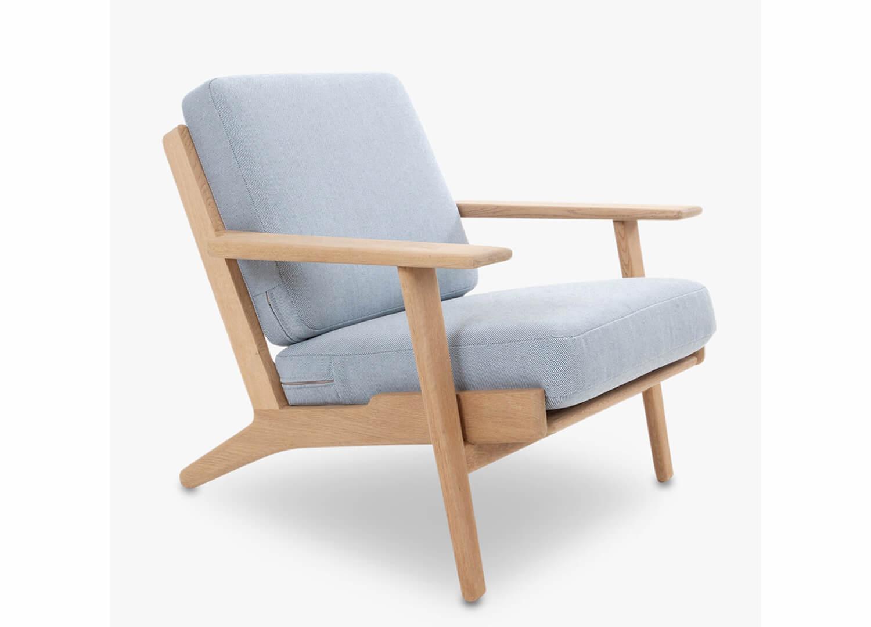 est living design directory plank armchair great dane