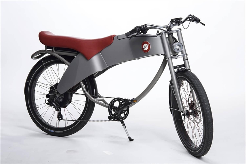 est living electric bike lohner stroler grey