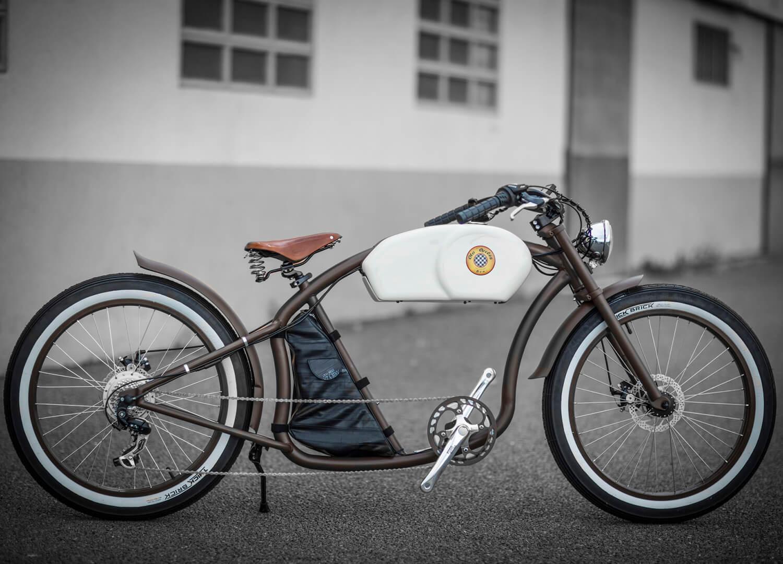 est living otr bikes brown white