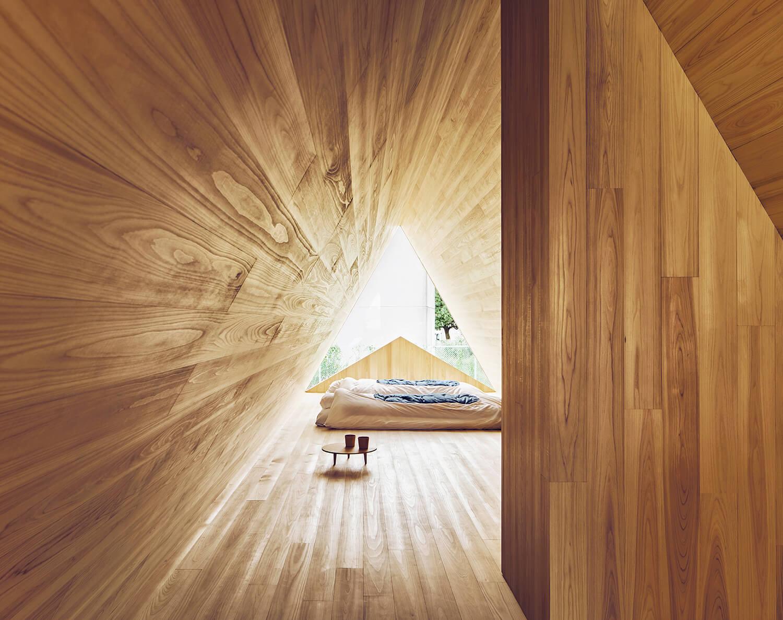 est living yoshino cedar house bedroom