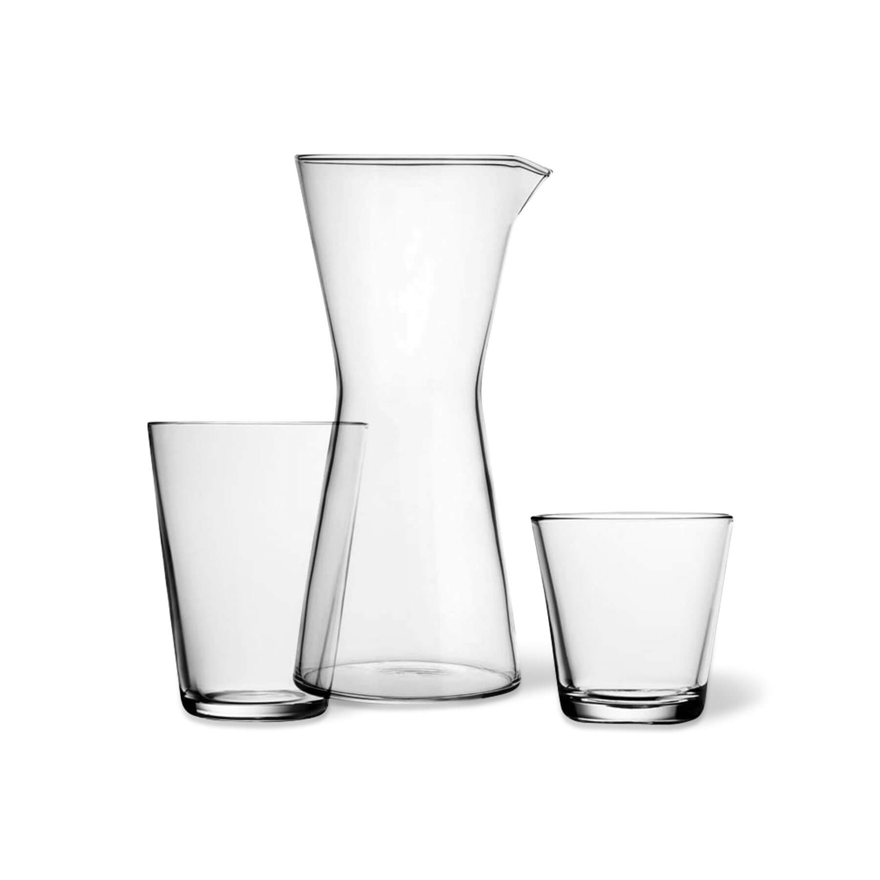 est living iittala kartio glasses white