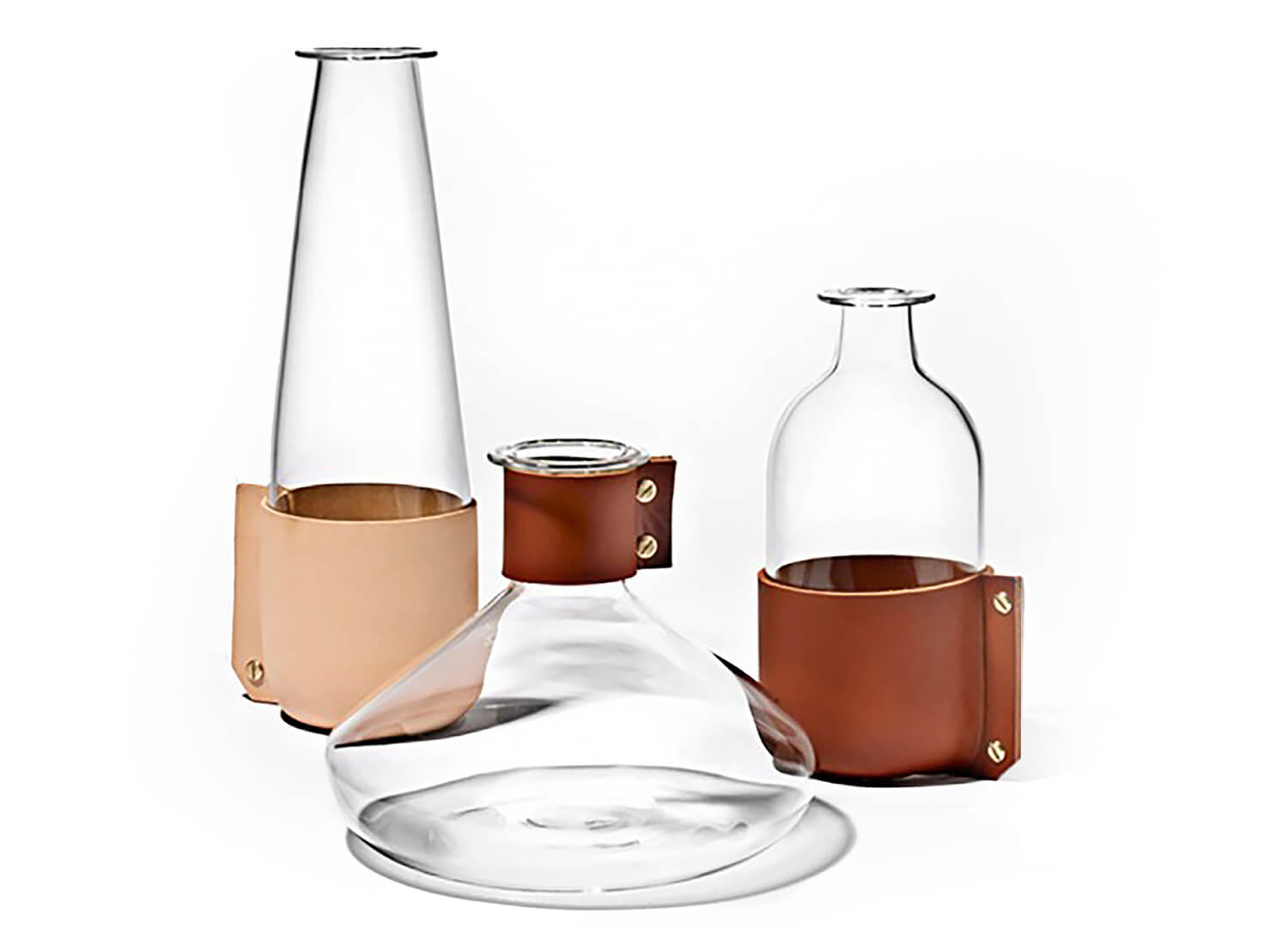 Est Living Strapped Design Covet Simon Hasan Wrap Glassware 1024x544
