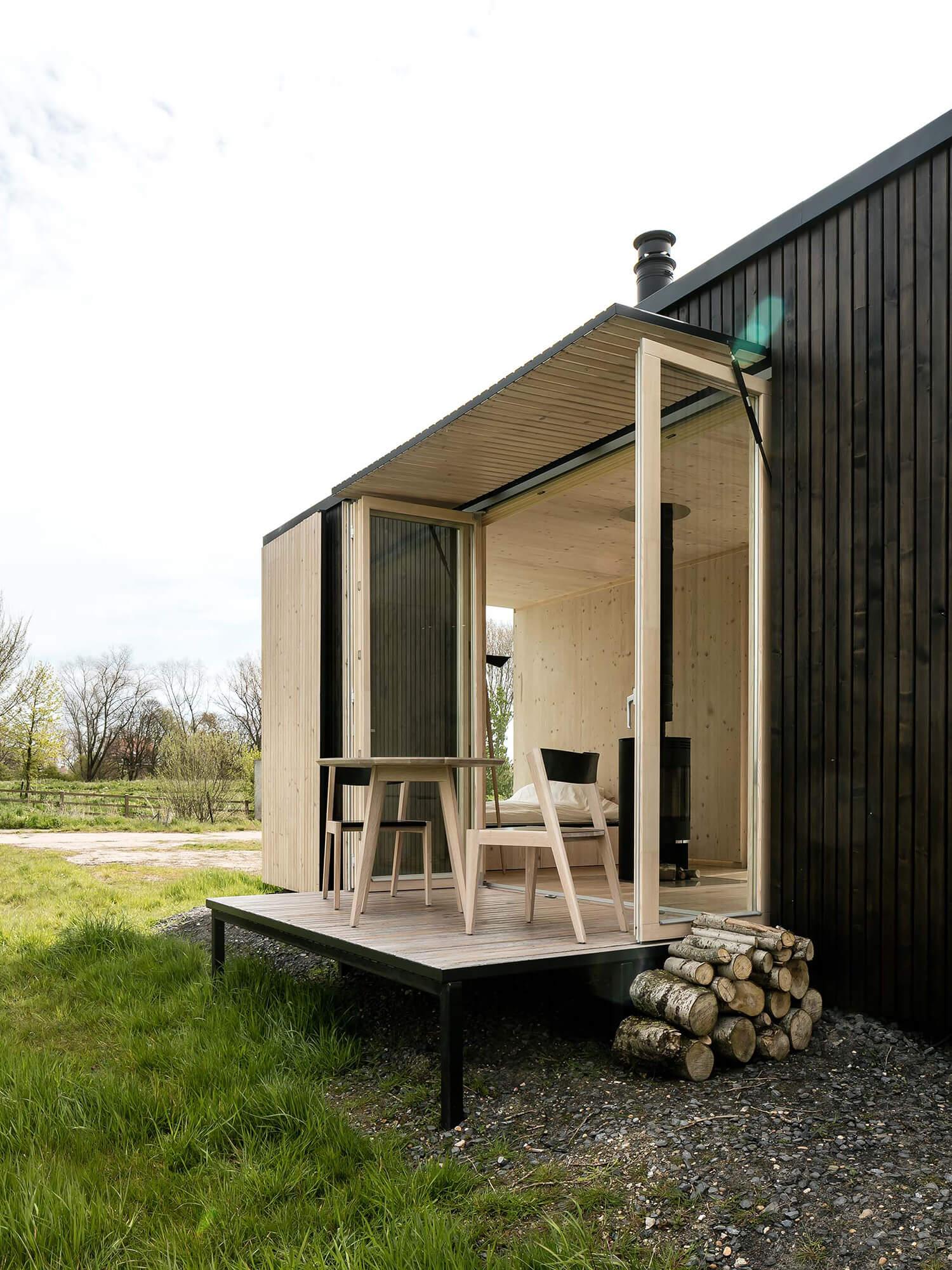 est living ark shelter exterior