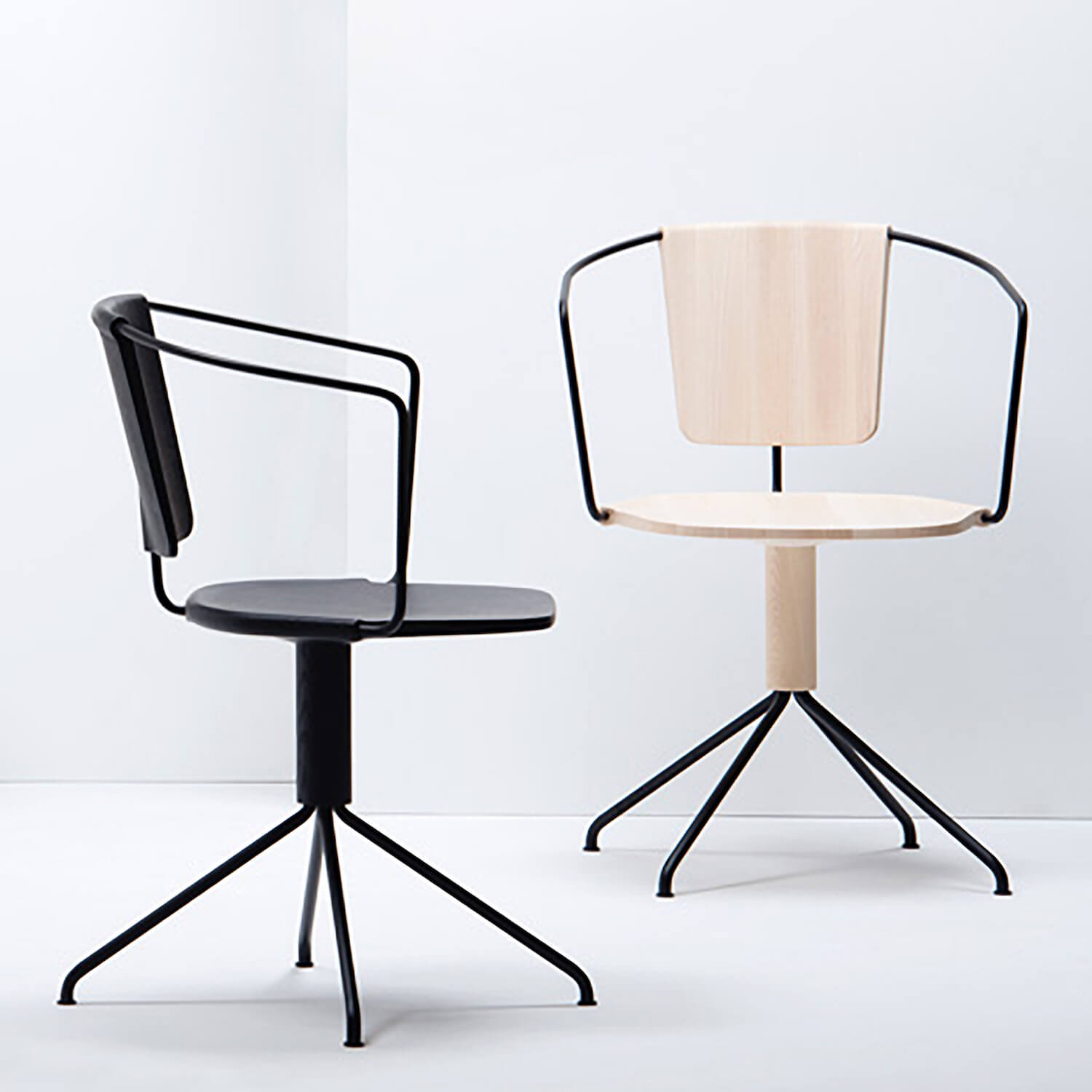 est living style hunter we are huntly uncino carved wood chairs by Ronan and Erwan Bouroullec for Mattiazzi
