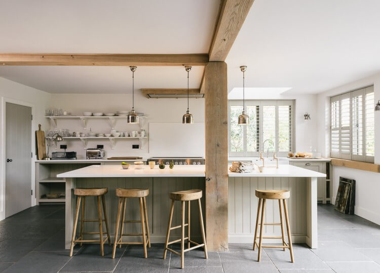 est living the real shaker kitchen henley times.07 750x540