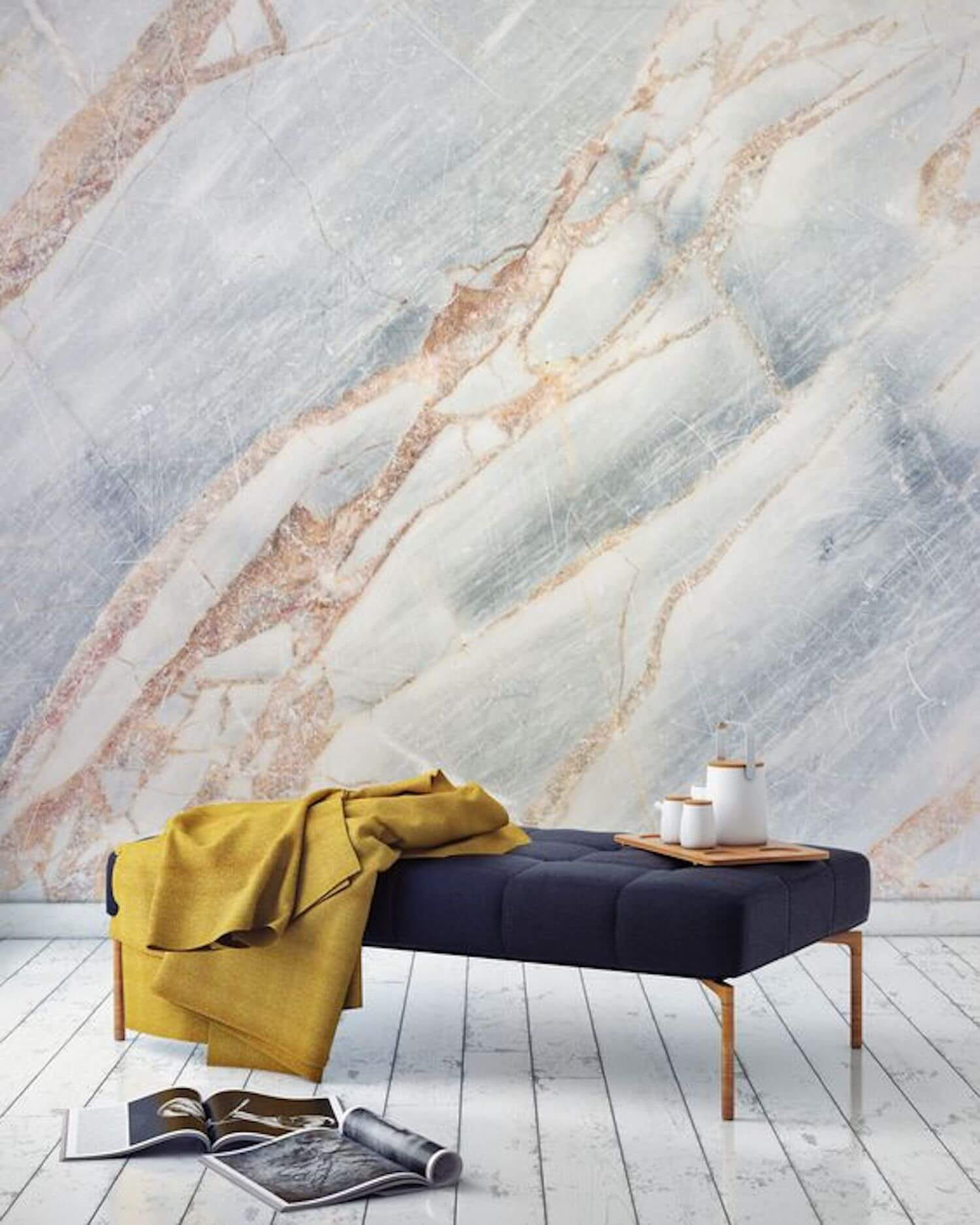 est living est edit wallpaper wonders bronze cracked marble wallpaper