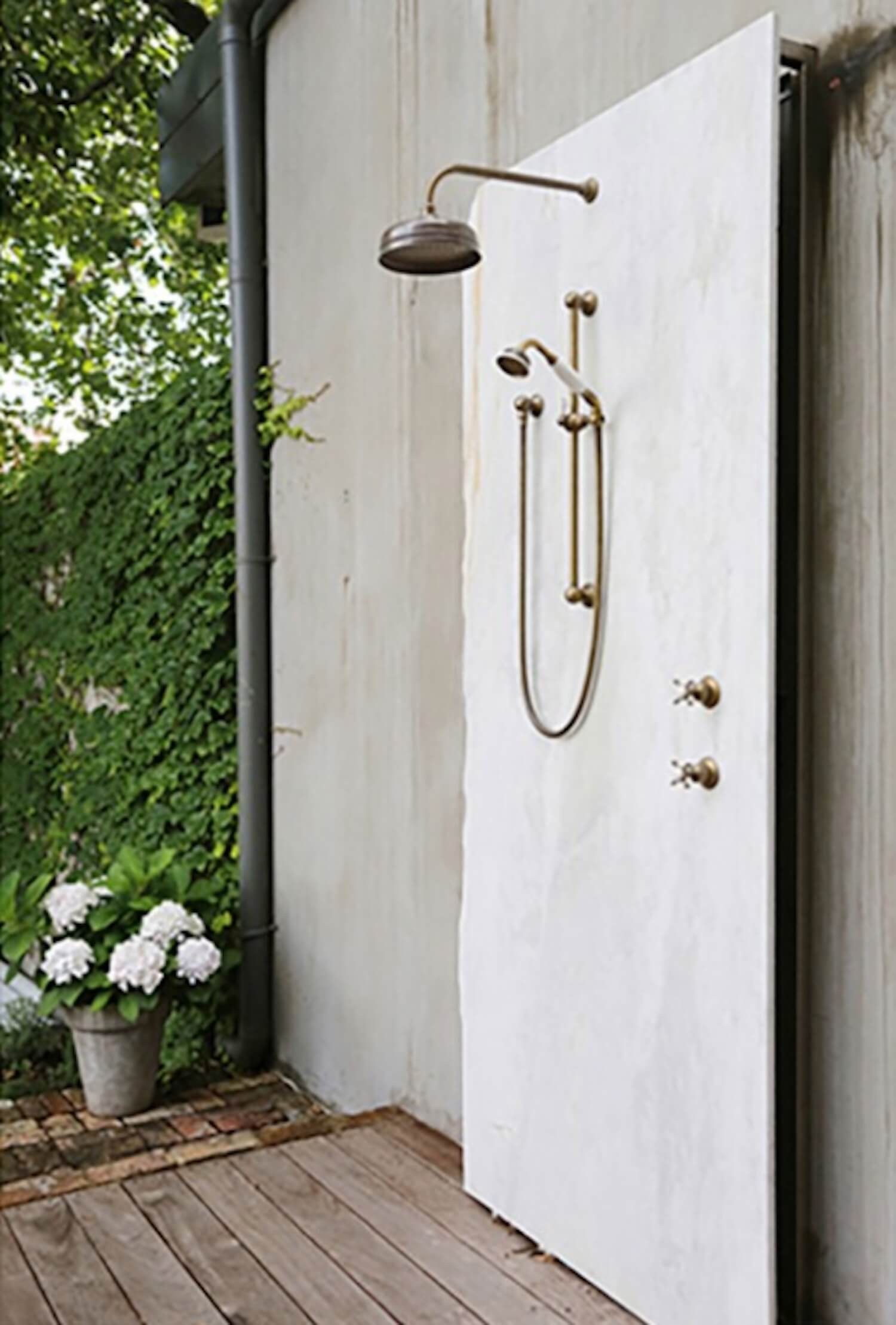 est living outdoor showers english tapware