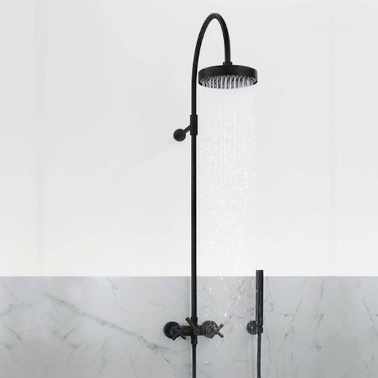 est living outdoor showers outdoor shower tara dornbracht