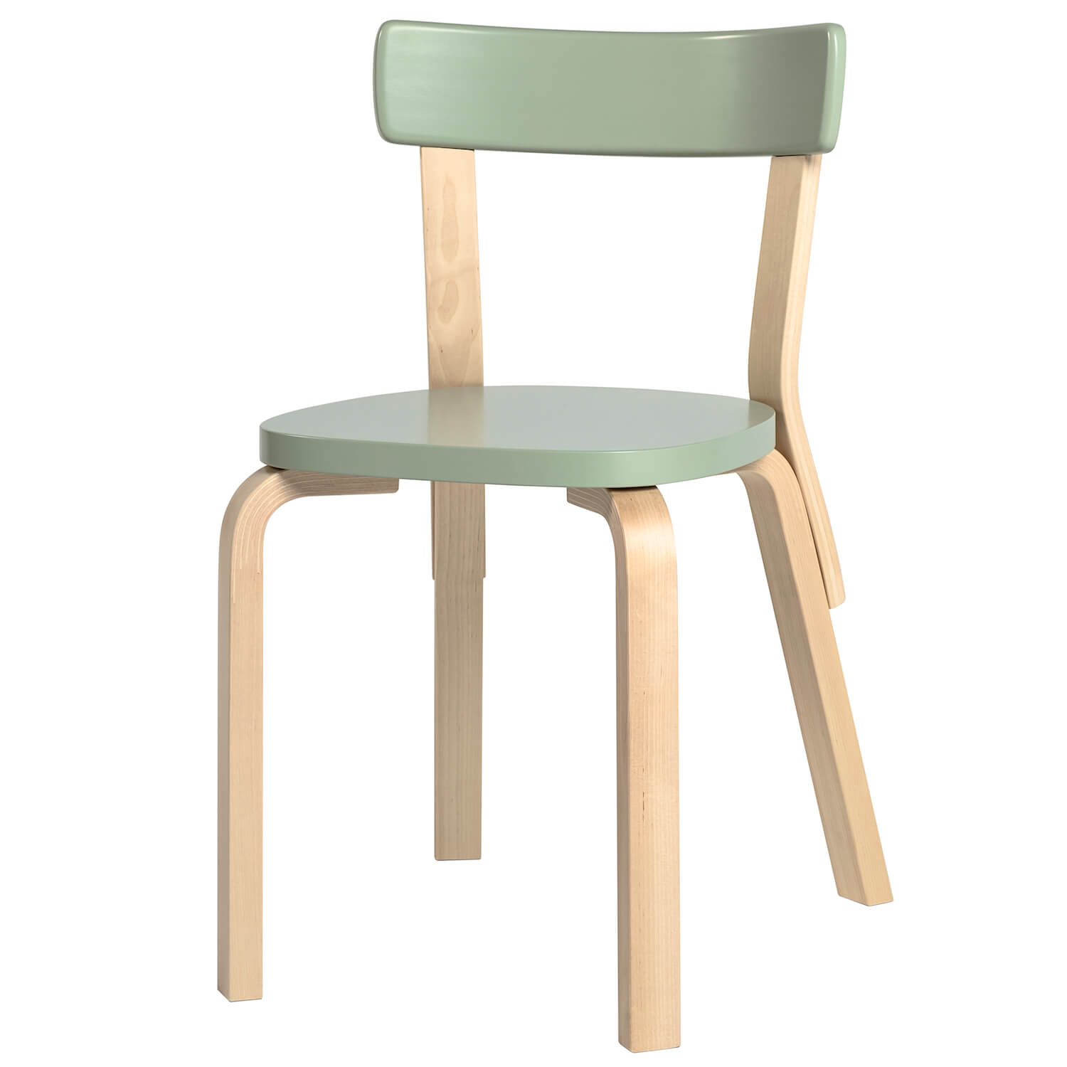 Artek 69 chair green
